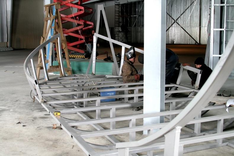 Изготовление рамы детской площадки для развлекательного комплекса  «Сахалин»