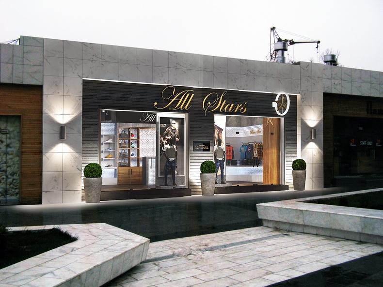 Дизайн фасада магазина