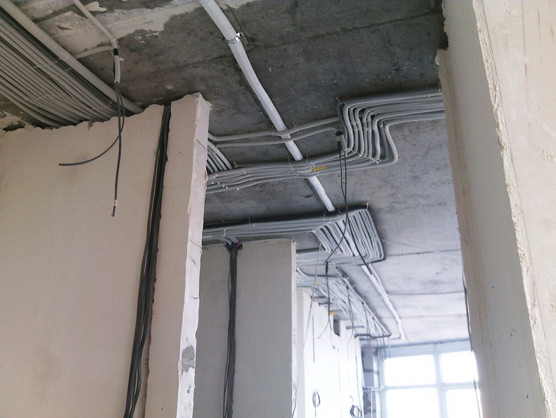 Образцово показательная эктропроводка