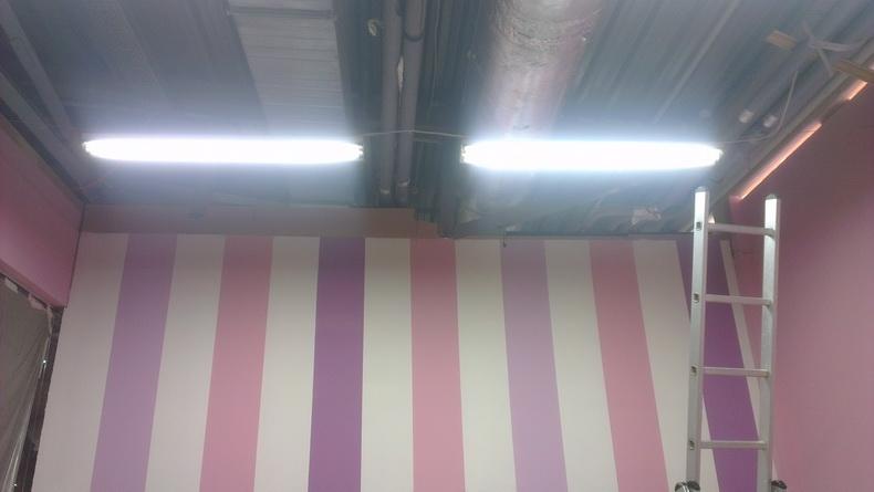 Ремонт в магазине детской одежды