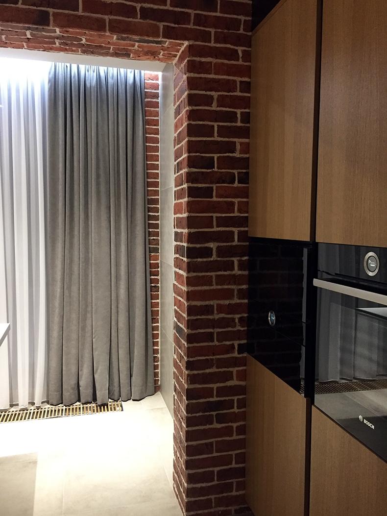 Мотаж штор в интерьере квартиры