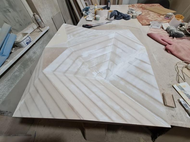 Процесс изготовления 3d панелей из мдф