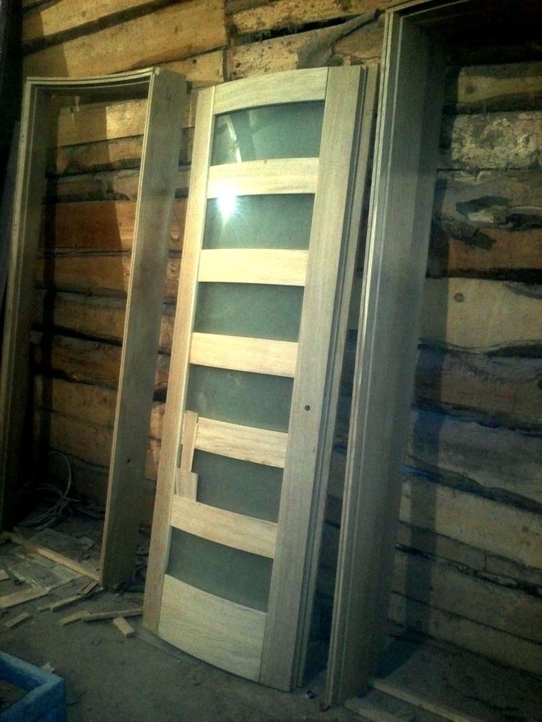 Изготовление радиусных межкомнатных дверей