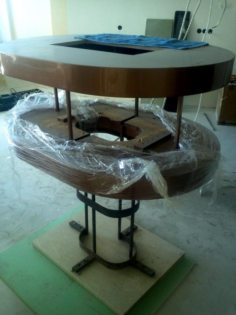 Монтаж конструкции вытяжки