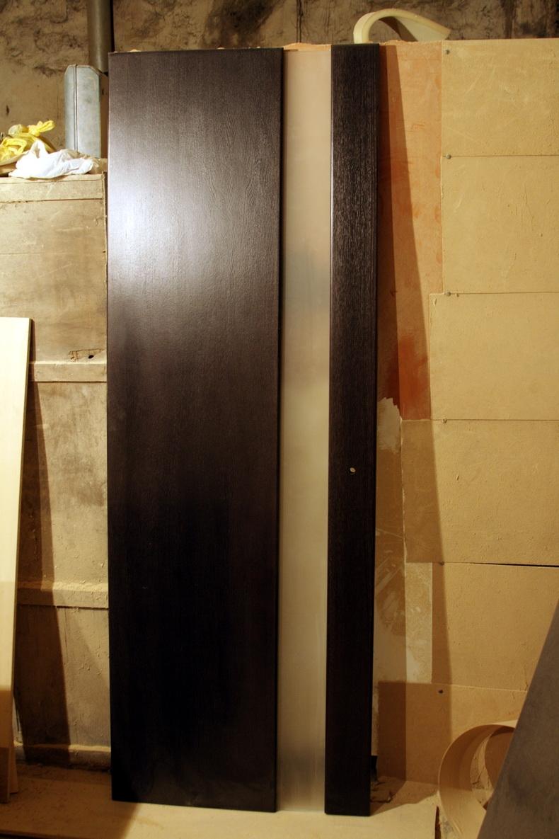 Дверь на завершающей стадии для одного из наших проектов