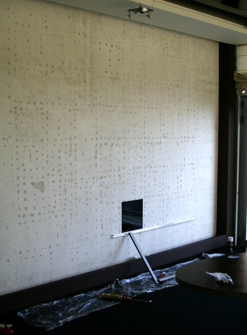 Монтаж панелей из стекла