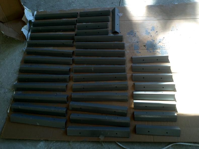 Закладные элменты для деревянной зашивки карнизов фасада