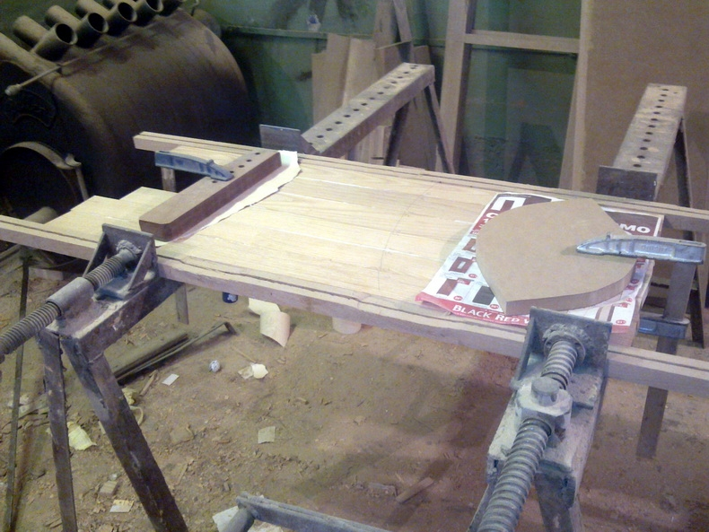 Изготовление заготовки для ступеней лестницы из массива дерева