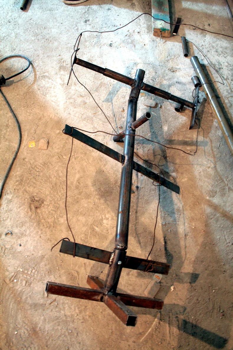 Изготовление конструкции выстовочного стенда