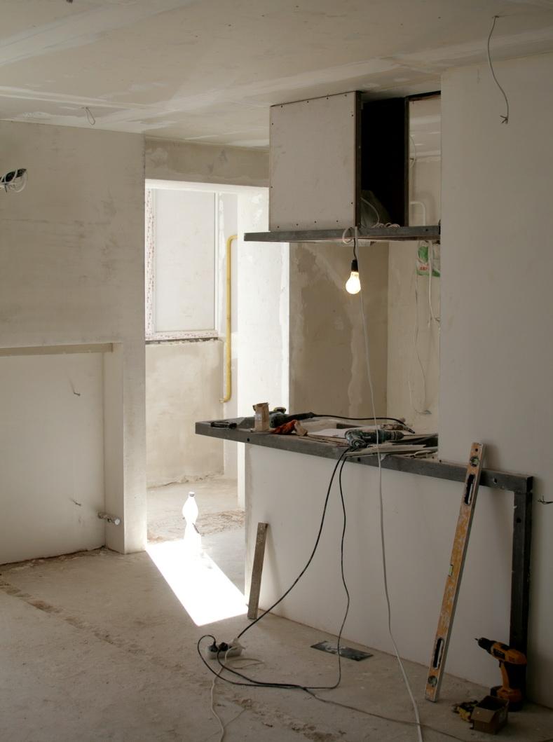 Малярные работы в однокомнатной квартире