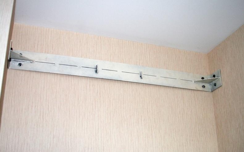 Изготовление дополнительной конструкции для надежного крепления бойлера к стене