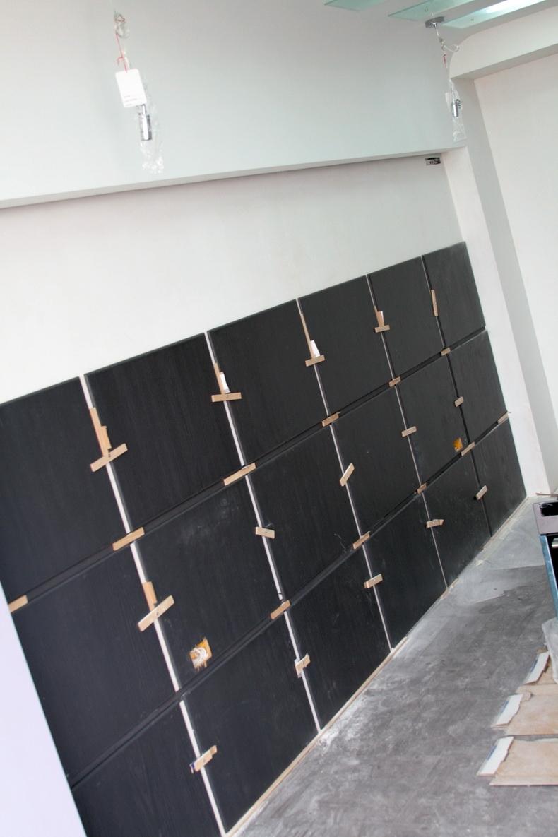 Изготовление декоративной панели из шпонированных MDF сегментов