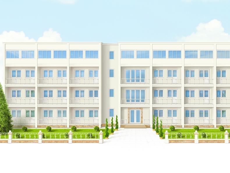 Иллюстрация для будущего сайта гостиницы