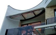 Эксклюзивные подвесные конструкции из закаленного тонированного стекла