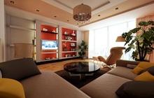 Дизайн - проект интерьера 3-х комнатной квартиры в современном стиле