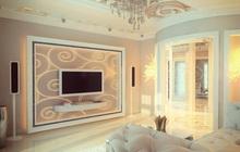 Дизайн трехкомнатной квартиры в стиле модерн