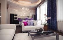 Дизайн-проект интерьера квартиры в современном стиле