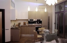 Ремонт в трехкомнатной квартире по дизайн-проекту студии  CORNER
