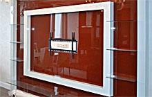 Эксклюзивная ТВ панель из стекла