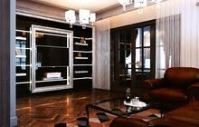 Дизайн интерьера трехкомнатной квартиры в классическом стиле