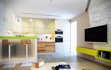 Дизайн интерьера квартиры эко-стиле