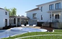 Разработка дизайна прилегающей территории к частному дому