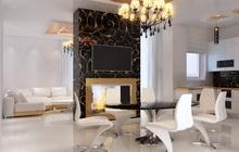 Дизайн проект интерьера частного дома