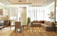 Дизайн однокомнатной квартиры жилой комплекс Жемчужина