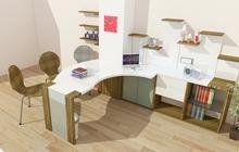 Эксклюзивная конструкция стола для учредителя компании