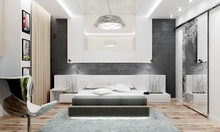 Дизайн интерьера двухкомнатной квартиры в современном стиле