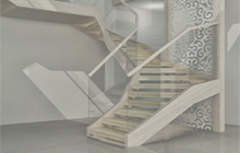 Разработка конструкции лестницы