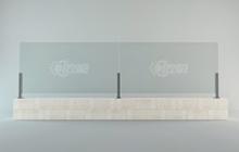 Разработка конструкции стеклянного ограждения для