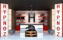 Дизайн интерьера магазина обуви «HYPNOZ»