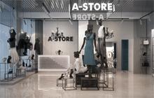 Дизайн интерьера магазина одежды «A-STORE»