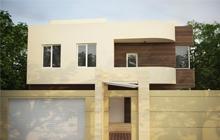 Дизайн фасада дома в современном стиле