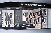 Дизайн интерьера магазина Black Star Киев