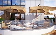 Дизайн террасы в ЖК «Гран Парк»
