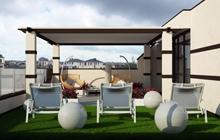 Дизайн экстерьера дома и прилегающего участка ул. Бирюзовая «Совиньон»