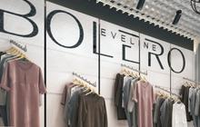 Дизайн интерьера магазина женской одежды «Bolero»