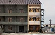 Дизайн фасада гостиницы