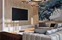 Дизайн интерьера двухуровневой квартиры ЖК «Гагаринский»