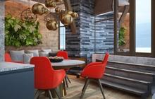Дизайн интерьера  квартиры ЖК «Гагарин Плаза»