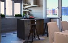 Дизайн интерьера  квартиры ЖК «Звездный городок»