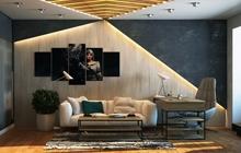 Дизайн итерьера квартиры Сахарова 24