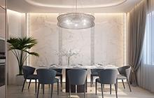 Дизайн интерьера квартиры в ЖК «Восьмая Жемчужина»