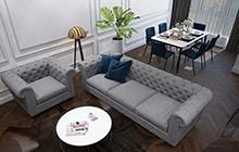 Дизайн интерьера квартиры  ЖК Двадцатая Жемчужина