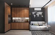Дизайн интерьера квартиры в ЖК «Альтаир»