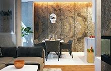 Дизайн интерьера двухуровневой квартиры в ЖК «Гагаринский»