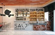 Дизайн интерьера кофейни «Соль»