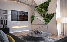 Дизайн интерьера квартиры в ЖК.  «Девятнадцатая Жемчужина»